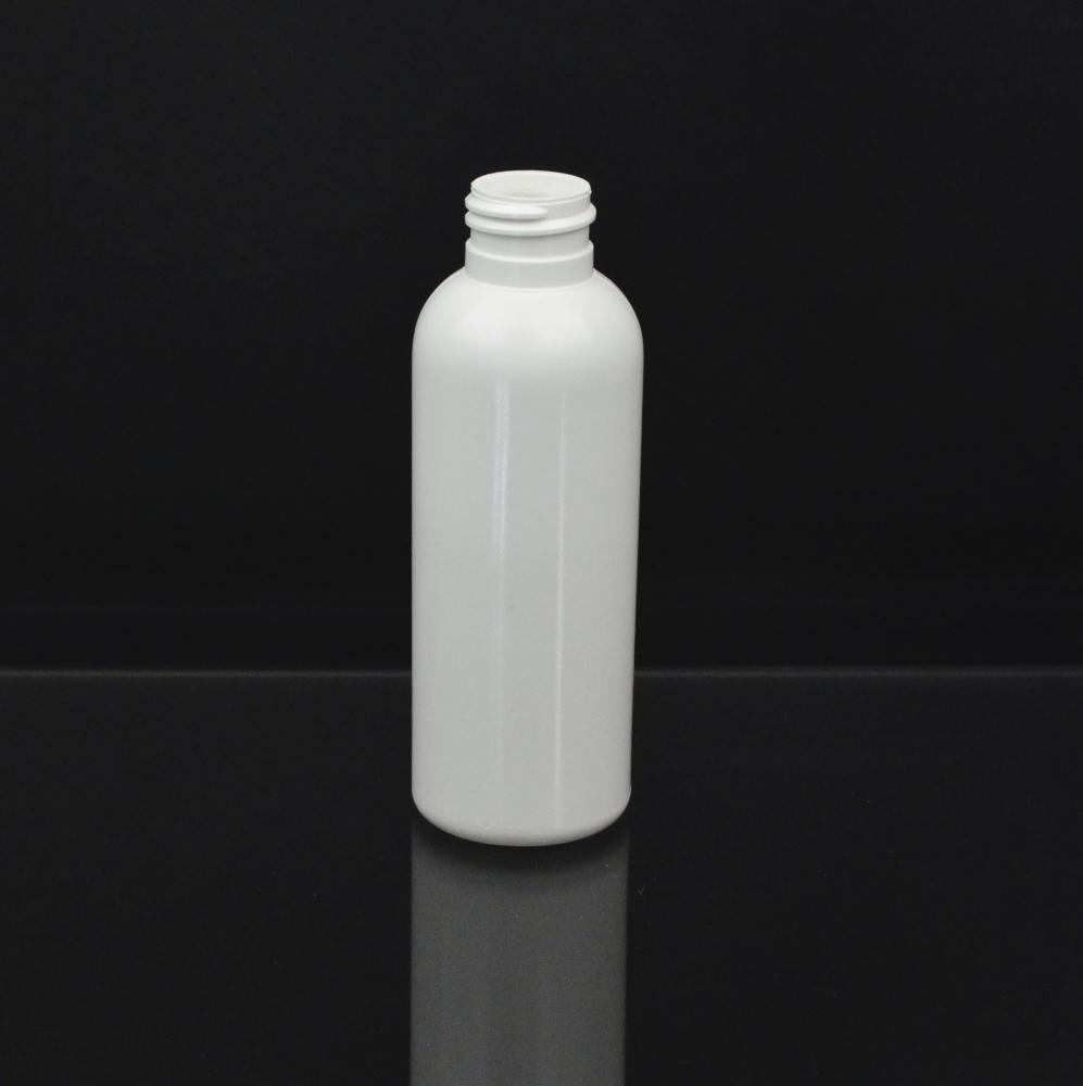 4 oz 24/410 Royalty Round White HDPE Bottle