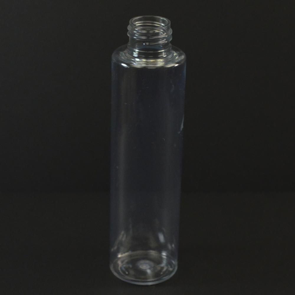 4 oz 24/410 Slim Cylinder Clear PET Bottle