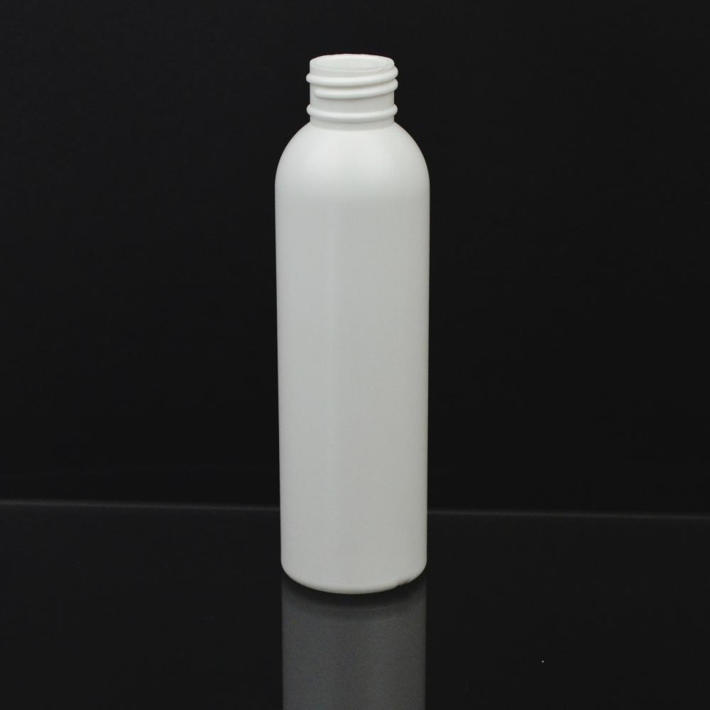 5 oz 24/410 Imperial Round White HDPE Bottle