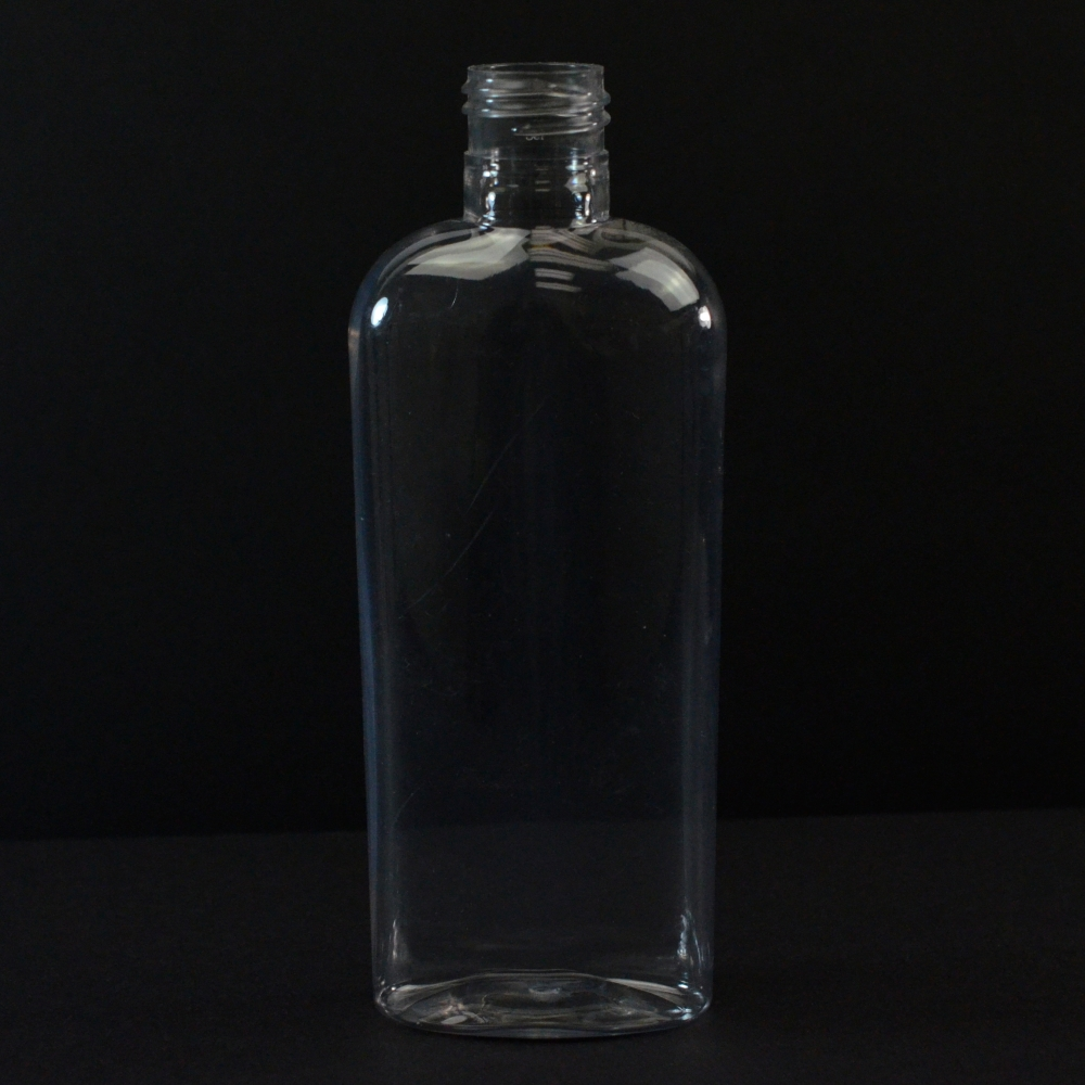 6 oz 24/415 Cosmoval Clear PET Bottle