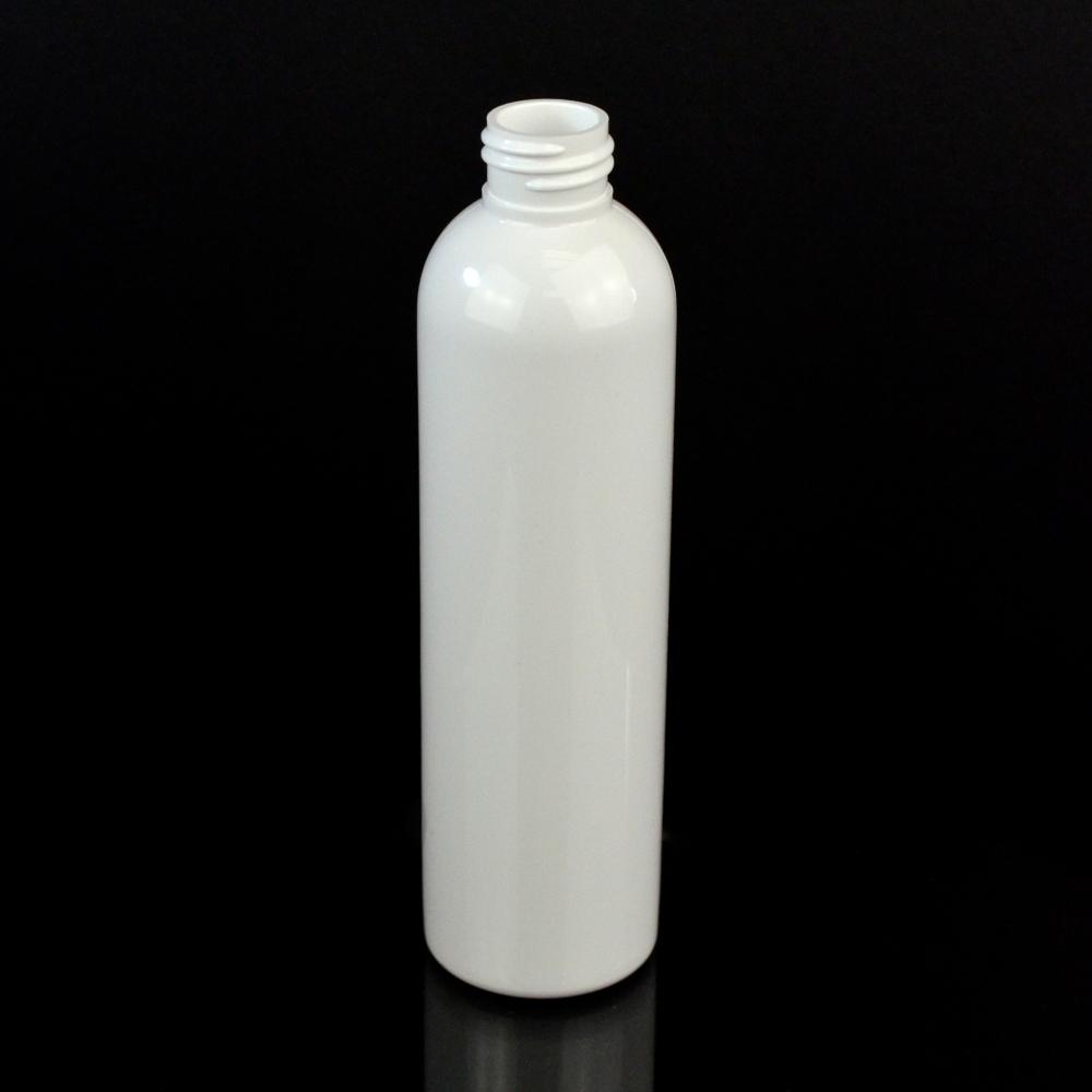 6 oz 24/410 Cosmo Round White PET Bottle