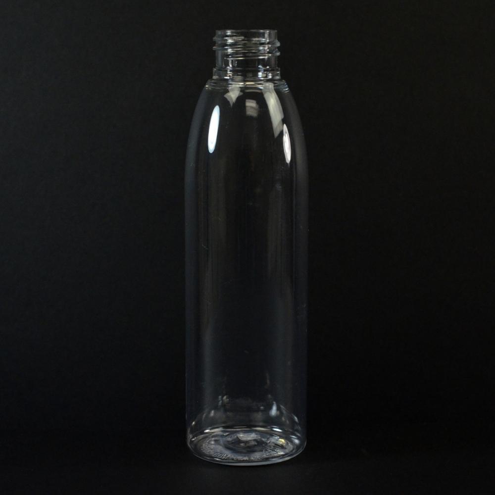 6 oz 24/410 Evolution Round Clear PET Bottle