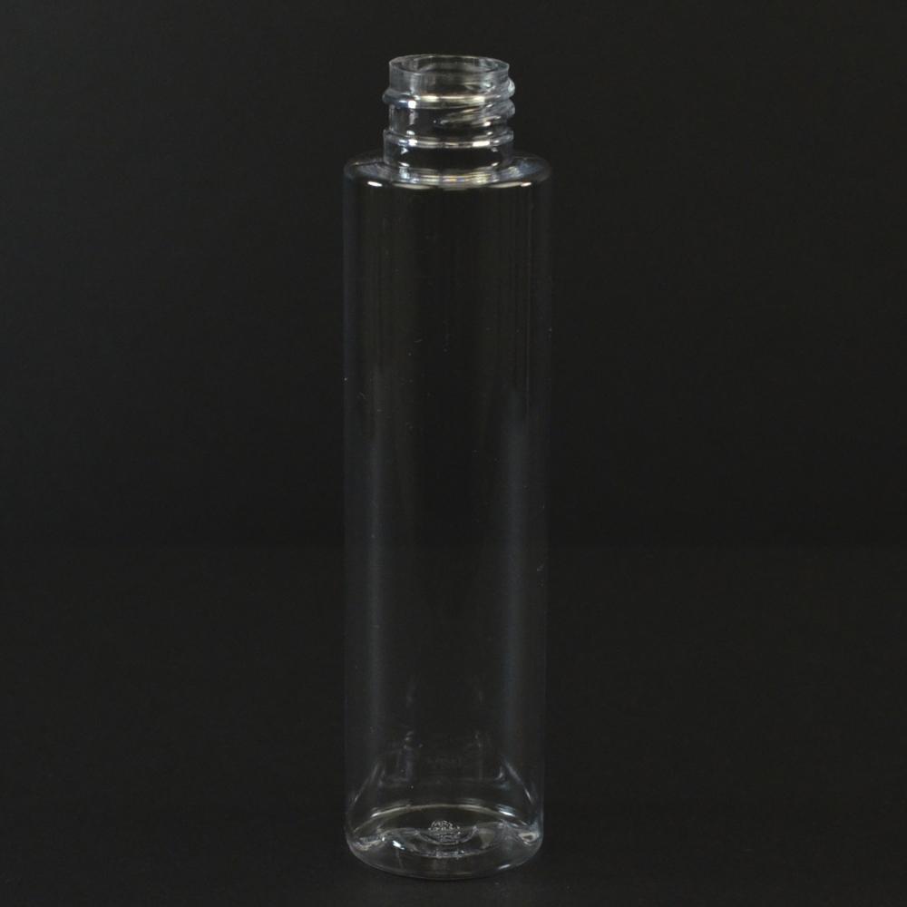 75 ML 20/410 Cylinder Round Clear PET Bottle