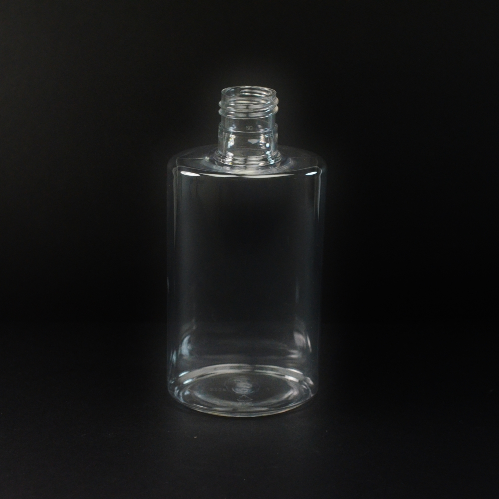 8 oz 24/415 Powell Clear PET Bottle