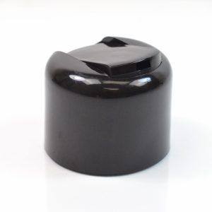 Plastic Cap 24-410 PT Smooth Black Symmetrical_1941