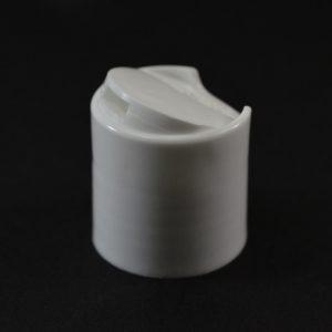 Plastic Cap 24-410 PT Smooth White PP_1940