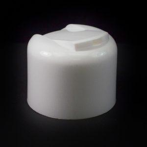 Plastic Cap 24-410 PT Smooth White Symmetrical_1942
