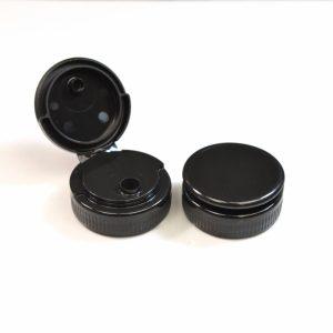 Plastic Cap 38-400 Black Ultra Light Flip Top .500_2008