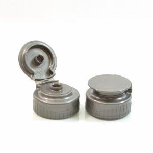 Plastic Cap Snaptop 28-400 .250 Grey_1994