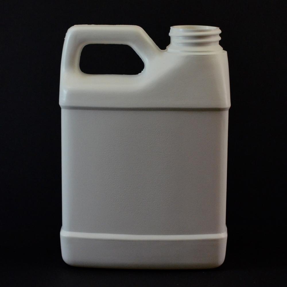 12 oz 33/400 F-Style Plastic Jug HDPE White