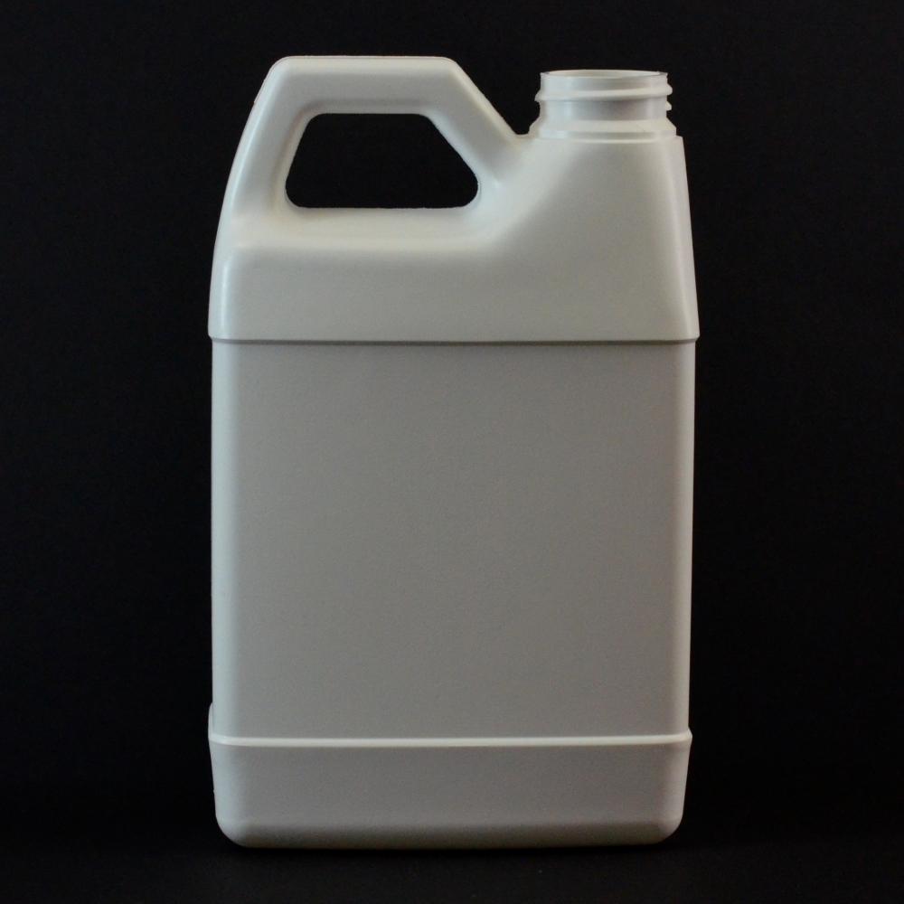 16 oz 33/400 F-Style Plastic Jug HDPE White