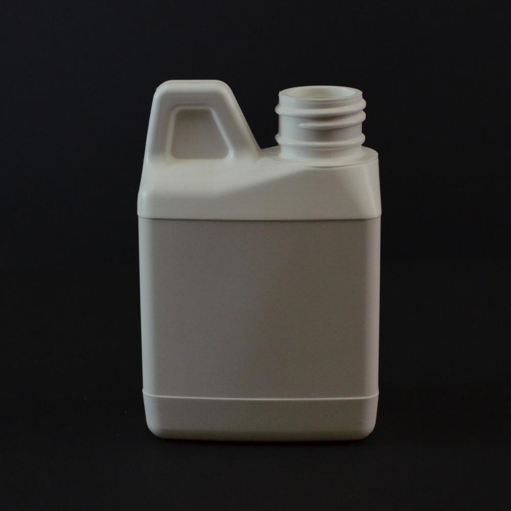 4 oz 24/400 F-Style Plastic Jug HDPE White