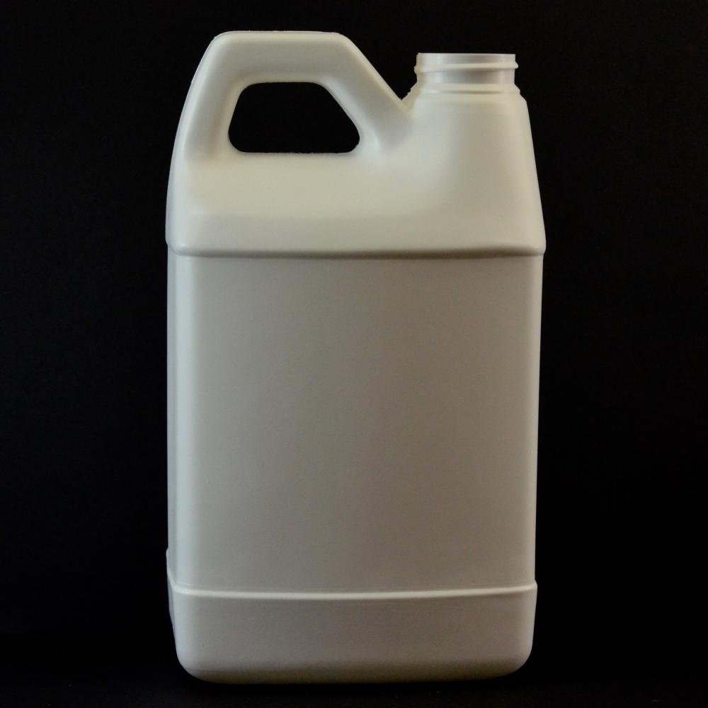 64 oz 38/400 F-Style Plastic Jug HDPE White