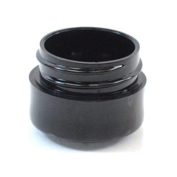 Plastic Jar 0.125 oz. Thick Wall PP Black 33-400_1436