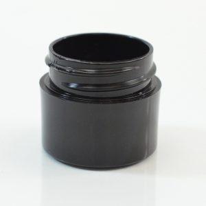 Plastic Jar 0.25 oz. Thick Wall PP Black 33-400_1440