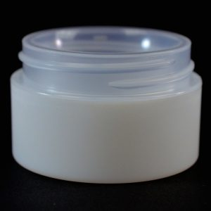 Plastic Jar 0.5 oz. Double Wall Straight Base IMF PP-PS 48-400_1188
