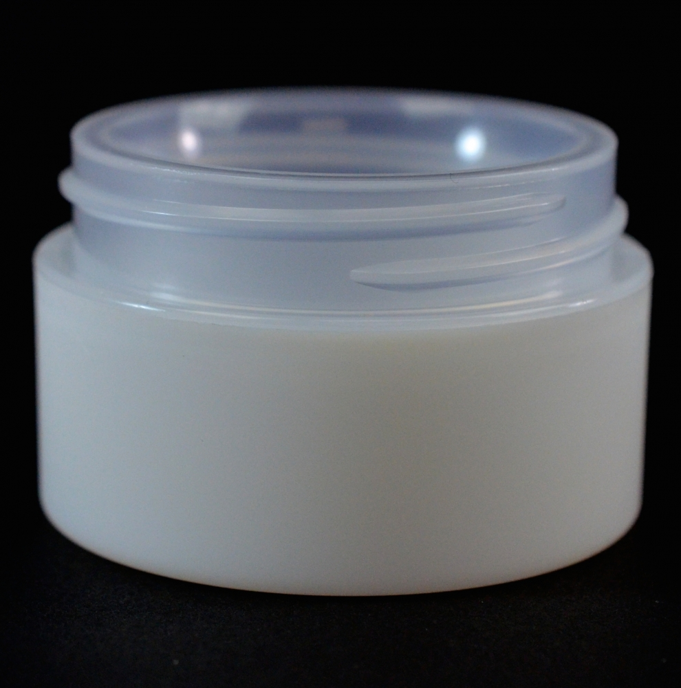 1/2 oz 48/400 Double Wall Straight Base IMF PP Jar