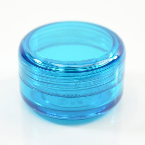 Plastic Jar 0.5 oz. Mode PET Light Blue 43SP_1407