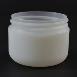 Plastic Jar 1 oz. Double Wall Round Base IMF PP-PS 53-400_1168