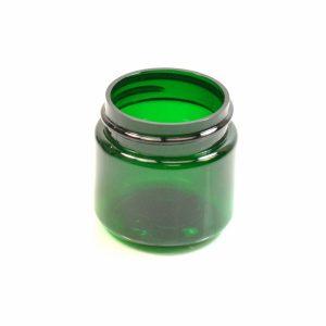 Plastic Jar 1 oz. Straight Sided PET Emerald 38-400_1361