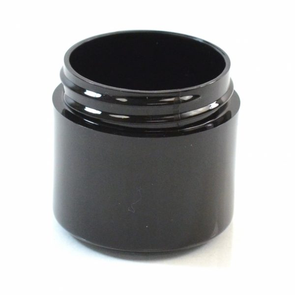 Plastic Jar 1 oz. Thick Wall PP Black 43-400_1451
