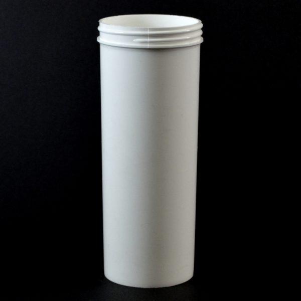 Plastic Jar 12 oz. Regular Wall Straight Base White PP 63-400_1318