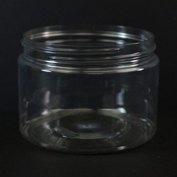 Plastic Jar 12 oz. Wide Mouth Clear PET 89-400_1384