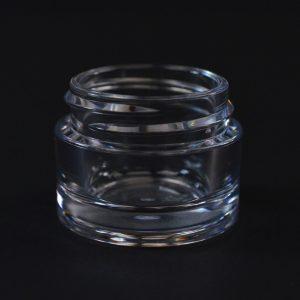 Plastic Jar 15ml Heavy Wall Clear PETG 38-400_1503