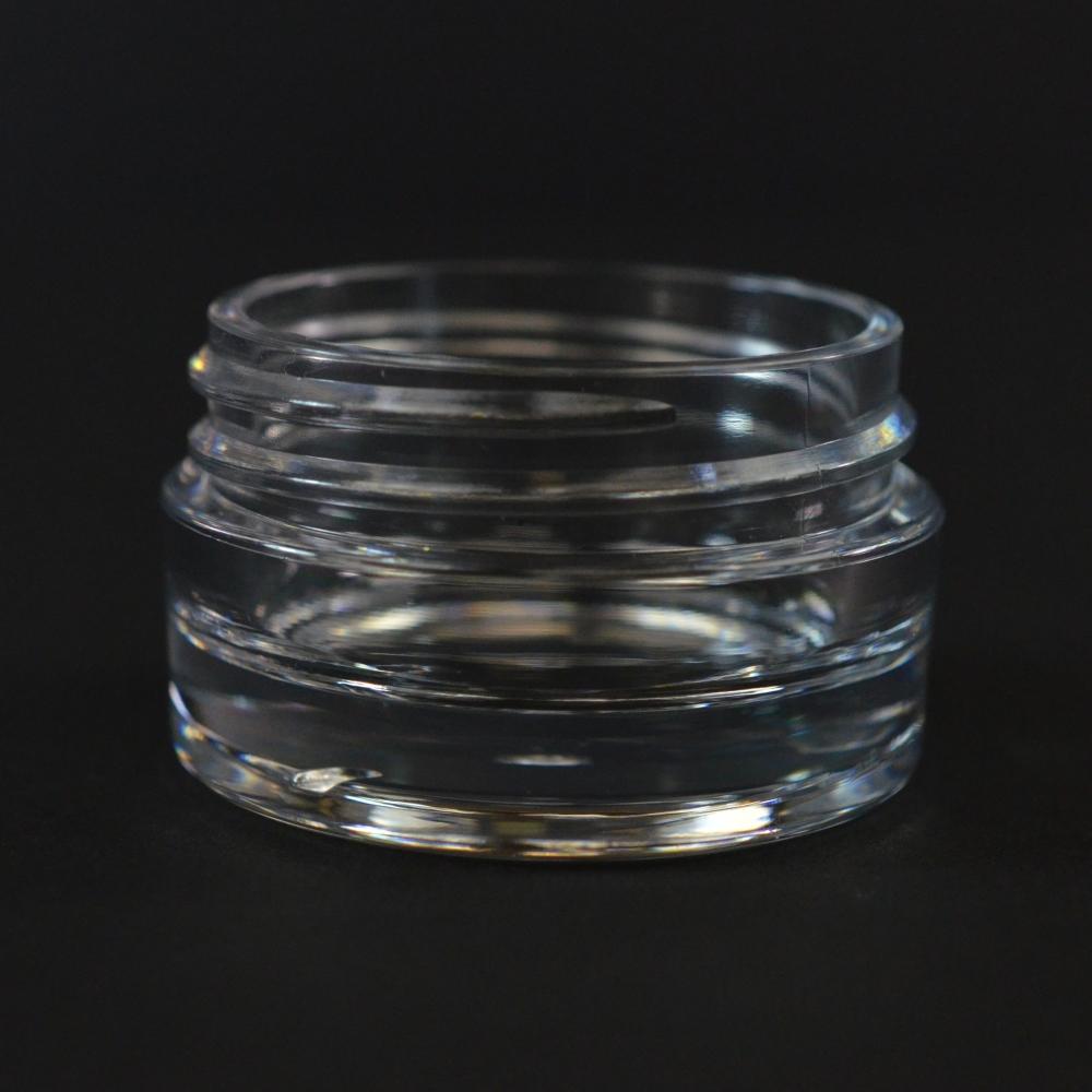 15 ML 43/400 Heavy Wall Clear PETG Jar