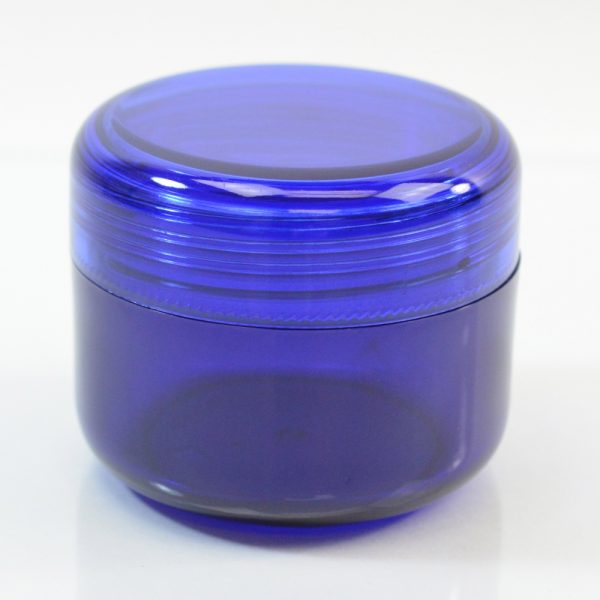 Plastic Jar 2 oz. Mode PET Cobalt 53SP_1419