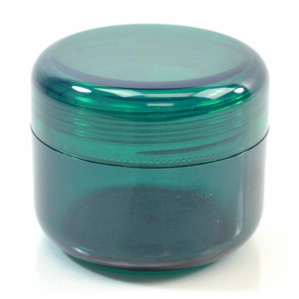 Plastic Jar 2 oz. Mode PET Emerald 53SP_1421