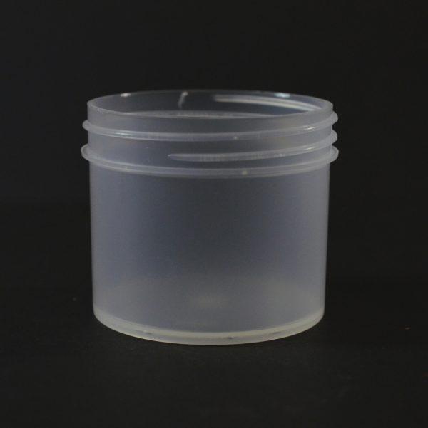 Plastic Jar 2 oz. Regular Wall Straight Base Natural PP 53-400_1272