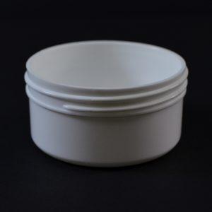 Plastic Jar 2 oz. Regular Wall Straight Base White PP 70-400_1279