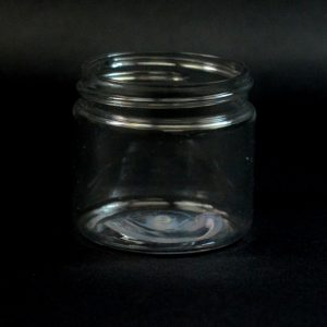 Plastic Jar 2 oz. Straight Sided PET Clear 48-400_1363