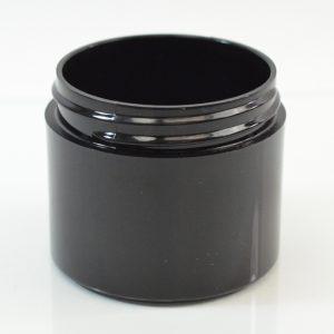 Plastic Jar 2 oz. Thick Wall PP Black 53-400_1458