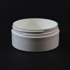 Plastic Jar 2 oz. Thick Wall Straight Base White PP 70-400_1464
