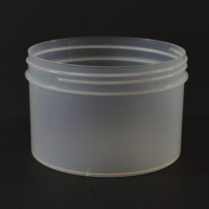 Plastic Jar 24 oz. Regular Wall Straight Base Natural PP 120-400_1332