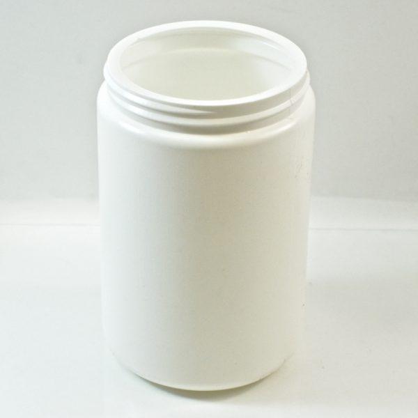 Plastic Jar 25 oz. Wide Mouth White HDPE 89-400_1347