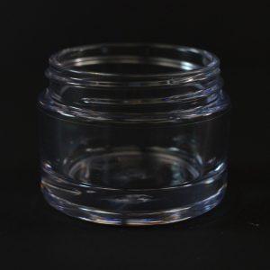 Plastic Jar 30ml Heavy Wall Clear PETG 48-400_1505
