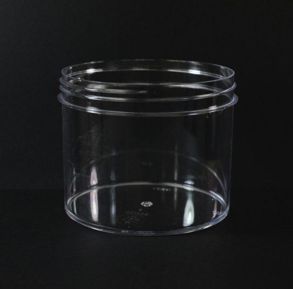 Plastic Jar 32 oz. Regular Wall Straight Base Clear PS 120-400_1334