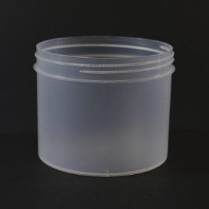 Plastic Jar 32 oz. Regular Wall Straight Base Natural PP 120-400_1335