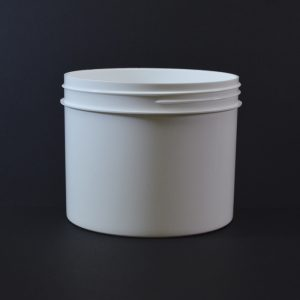 Plastic Jar 32 oz. Regular Wall Straight Base White PP 120-400_1336