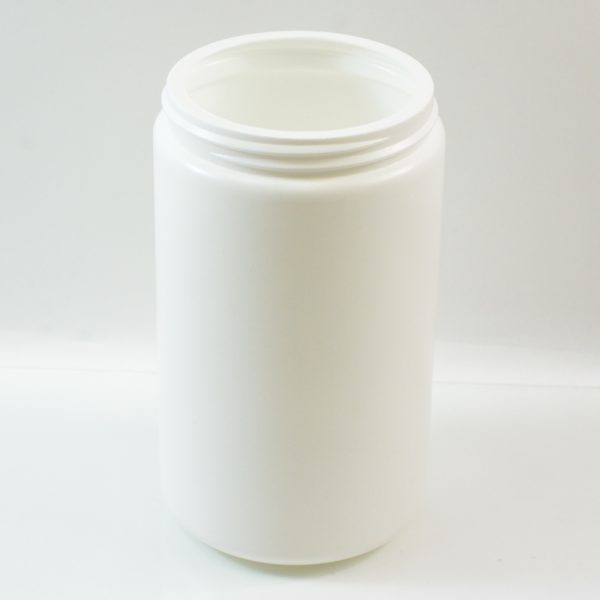 Plastic Jar 32 oz. Wide Mouth White HDPE 89-400_1351