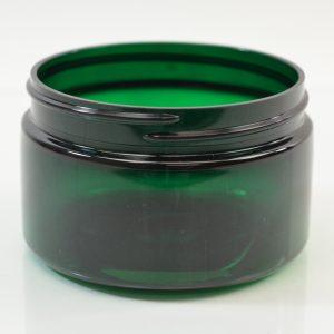 Plastic Jar 4 oz. Heavy Wall Low Profile PET Emerald 70-400_1213