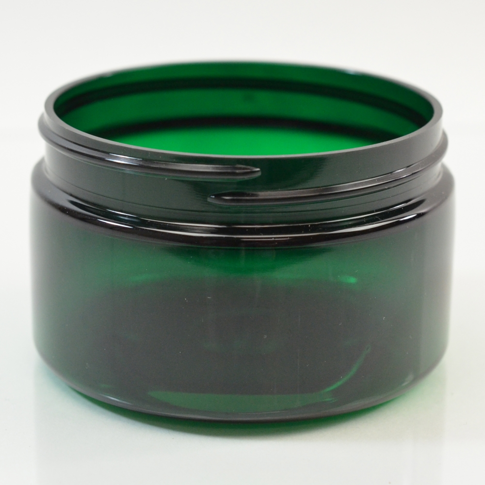 4 oz 70/400 Low Profile Emerald PET Jar