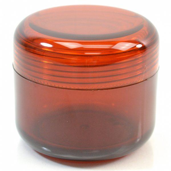 Plastic Jar 4 oz. Mode PET Brown 70SP_1427