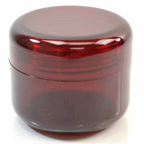 Plastic Jar 4 oz. Mode PET Dark Red 70SP_1426