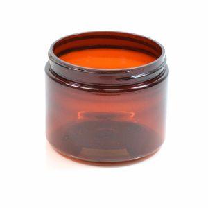 Plastic Jar 4 oz. Straight Sided PET Amber 58-400_1367