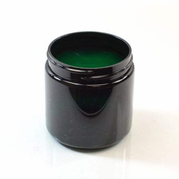 Plastic Jar 4 oz. Straight Sided PET Emerald 58-400_1371