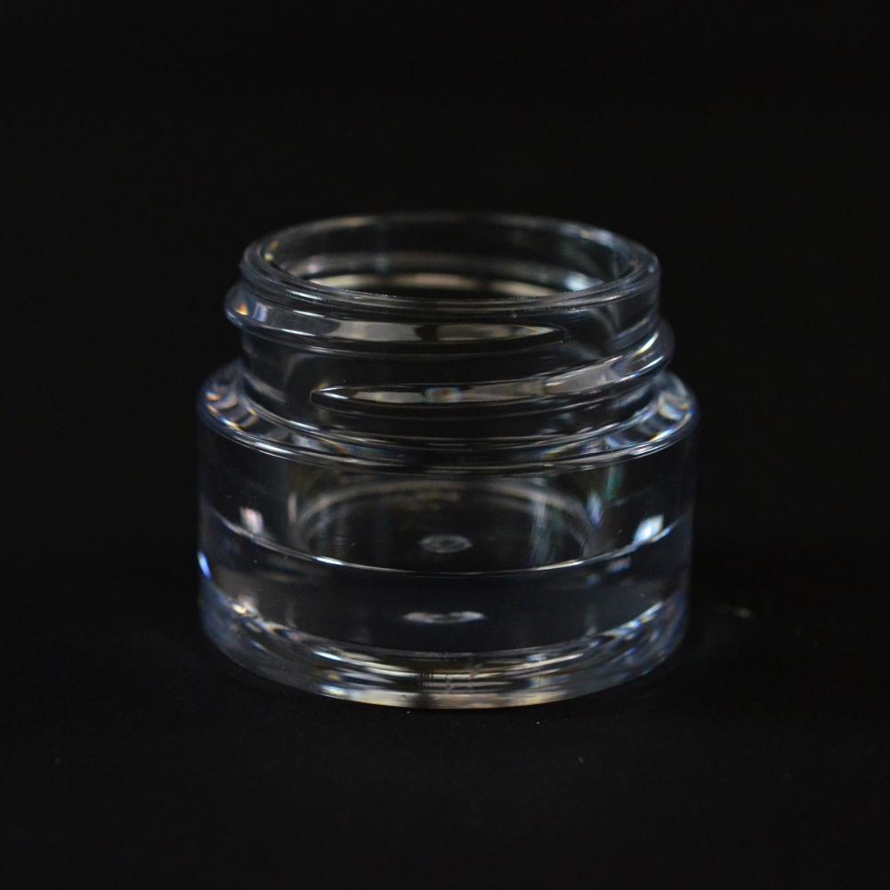 5 ML 30/400 Heavy Wall Clear PETG Jar